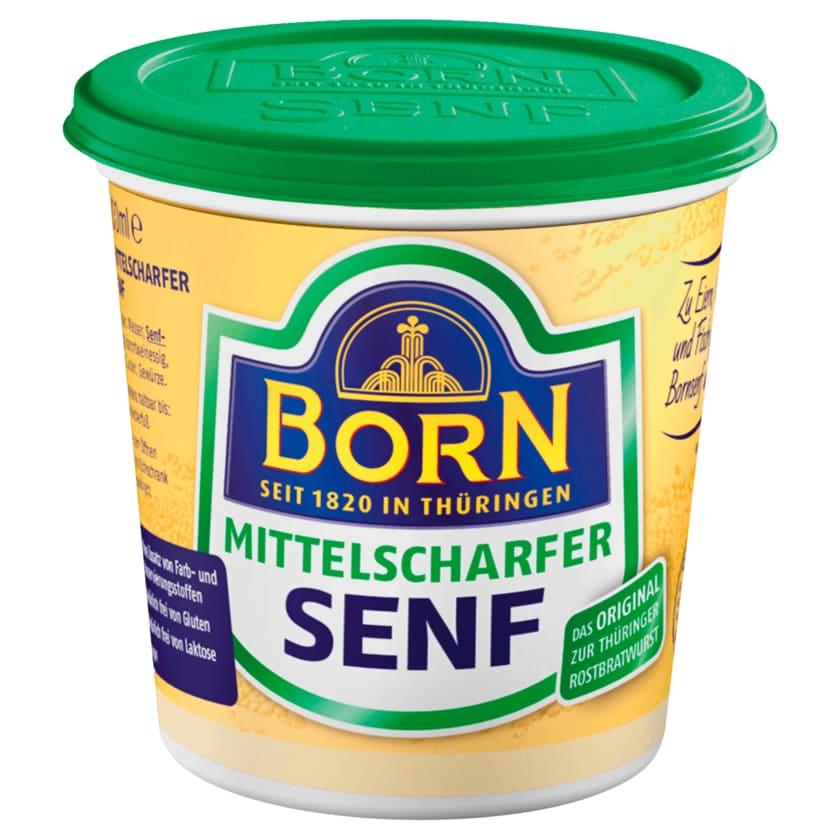 Born Senf Mittelscharf 200ml