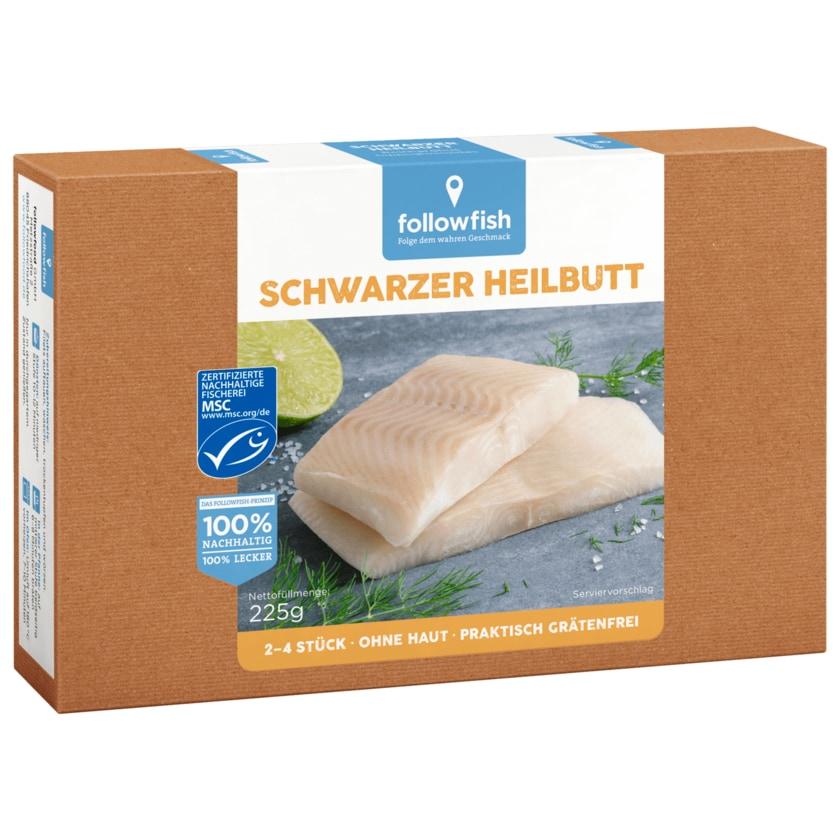 Followfish Schwarzer Heilbutt Filets MSC 225g