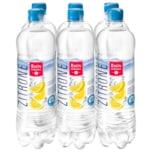 Rhönsprudel Mineralwasser Zitrone 6x0,75l
