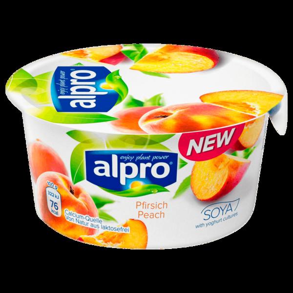 Alpro Soja Joghurtalternative Pfirsich 150g