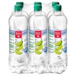 Rhönsprudel Mineralwasser Limette 6x0,75l