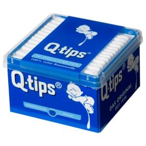 Q-Tips Stäbchen Box 206 Stück