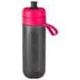 Brita Fill & Go Active Wasserfilter-Flasche 0,6l pink