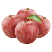 REWE Bio Tafeläpfel Gala rot 4 Stück