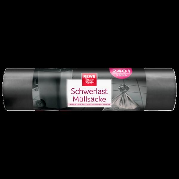 REWE Beste Wahl Schwerlast Müllsack 240l 5 Stück