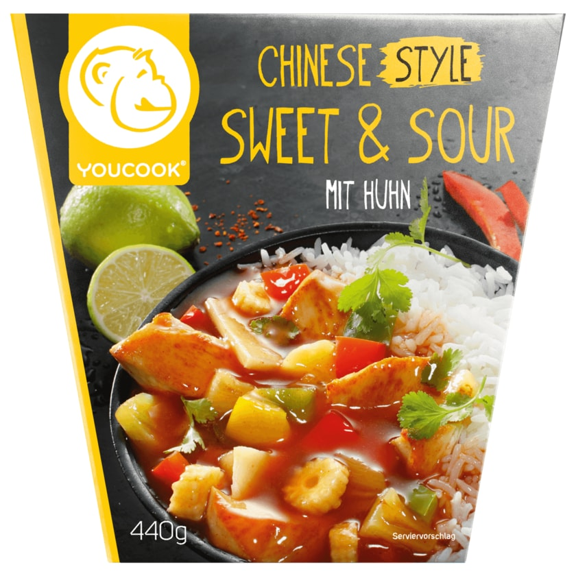 Youcook Chinese Style Sweet & Sour 440g