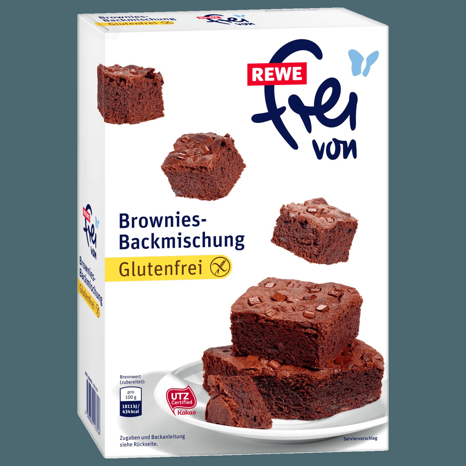 REWE frei von Brownies 420g