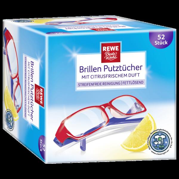 REWE Beste Wahl Brillenputztücher 52st