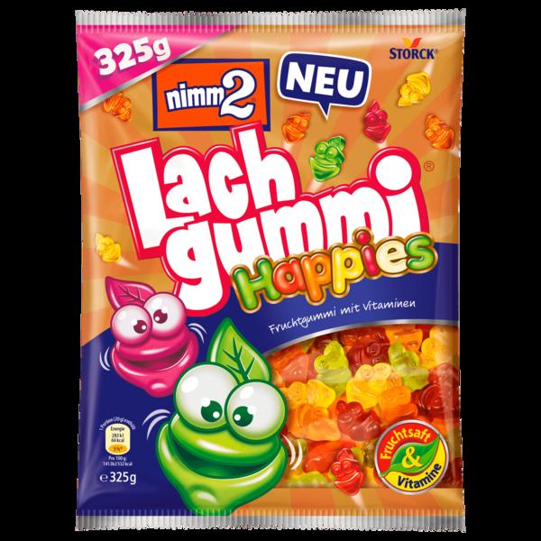Nimm2 Lach Gummi Happies 325g
