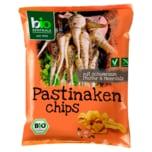 Biozentrale Bio Pastinaken Chips mit schwarzem Pfeffer & Meersalz 100g