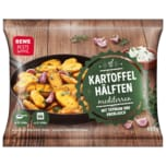 REWE Beste Wahl Kartoffelhälften mit Thymian und Knoblauch 450g