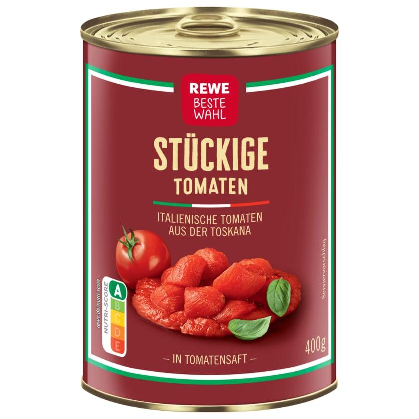 REWE Beste Wahl stückige Tomaten 240ml