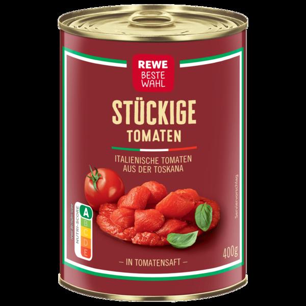 REWE Beste Wahl stückige Tomaten 425ml
