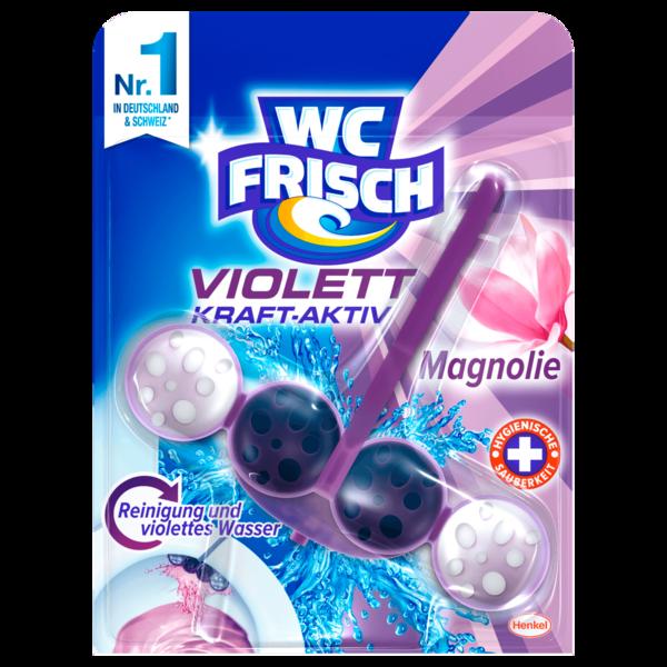 WC Frisch Violett Kraft-Aktiv Magnolie 50g