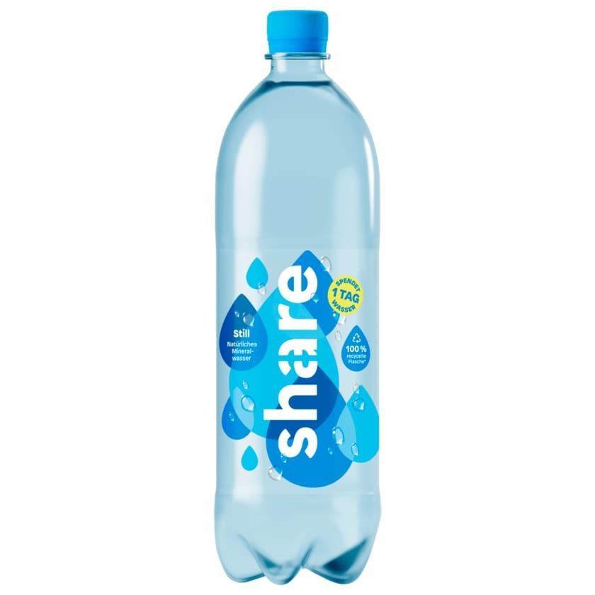 Share Natürliches Mineralwasser Still 1l