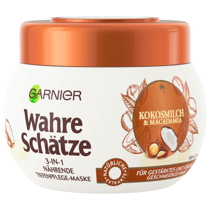 Garnier Wahre Schätze Haarmaske Kokosmilch & Macadamia 300ml