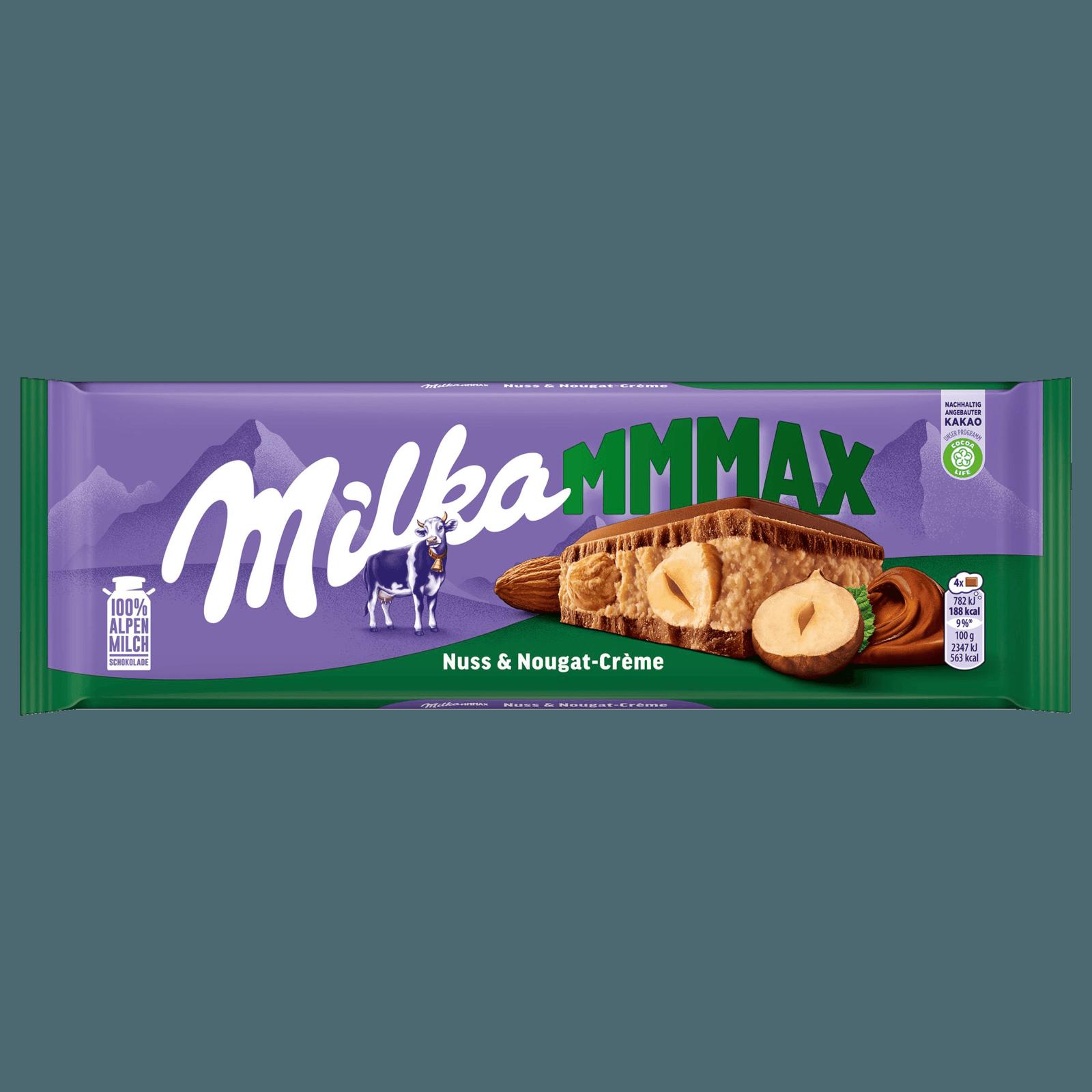 Milka Grosstafel Nuss Nougat 300g Bei Rewe Online Bestellen