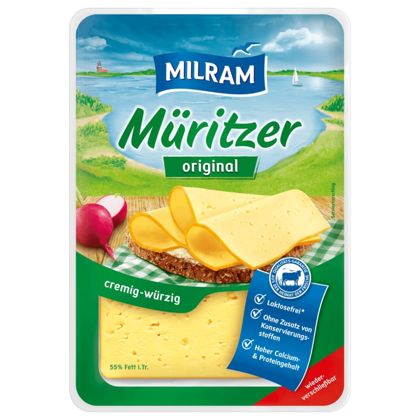 Milram Müritzer Original cremig-würzig laktosefrei 150g