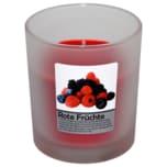 Duftkerze im Glas Rote Früchte