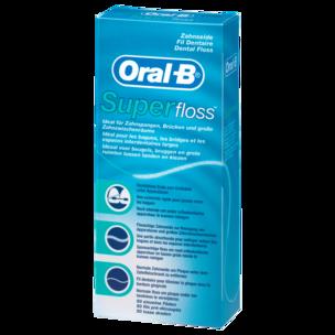 Oral-B Zahnseide Fäden SuperFloss 50 Stück