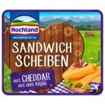 Hochland Sandwich Scheiben Cheddar 150g