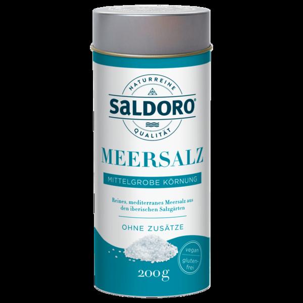 Saldoro Meersalz Mittelgrob Streudose 200g
