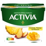Danone Activia Mango-Ananas-Pfirsich 4x115g