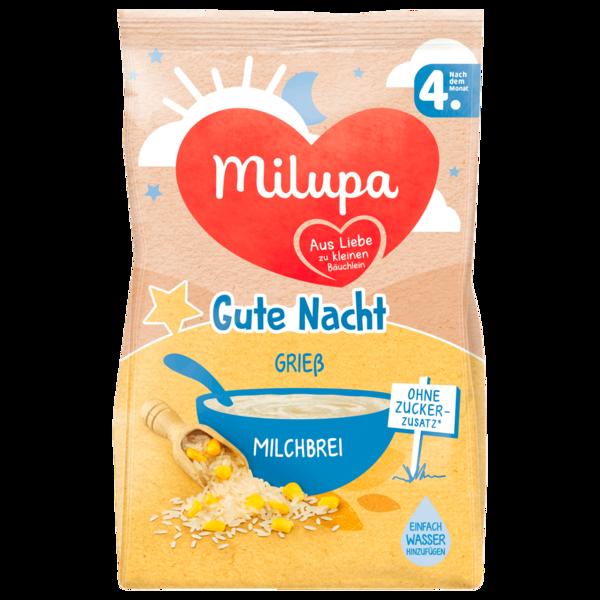 Milupa Gute Nacht Grieß Milchbrei nach dem 4. Monat 200g