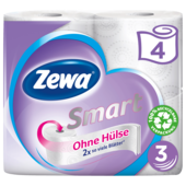 Zewa Smart Ohne Hülse 4 Rollen