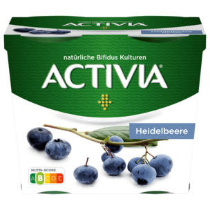 Danone Activia Heidelbeere 4x115g