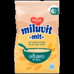 """Milupa Miluvit """"mit"""" Grießbrei mit Milch 400g"""