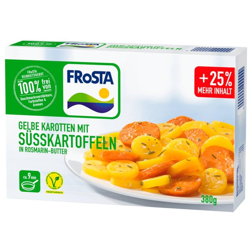 Frosta Gelbe Karotten mit Süßkartoffeln in Rosmarin 380g