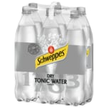 Schweppes Dry Tonic Water 6x1,25l