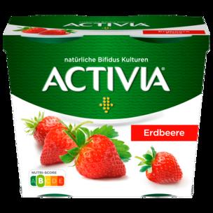Danone Activia Erdbeere 4x115g