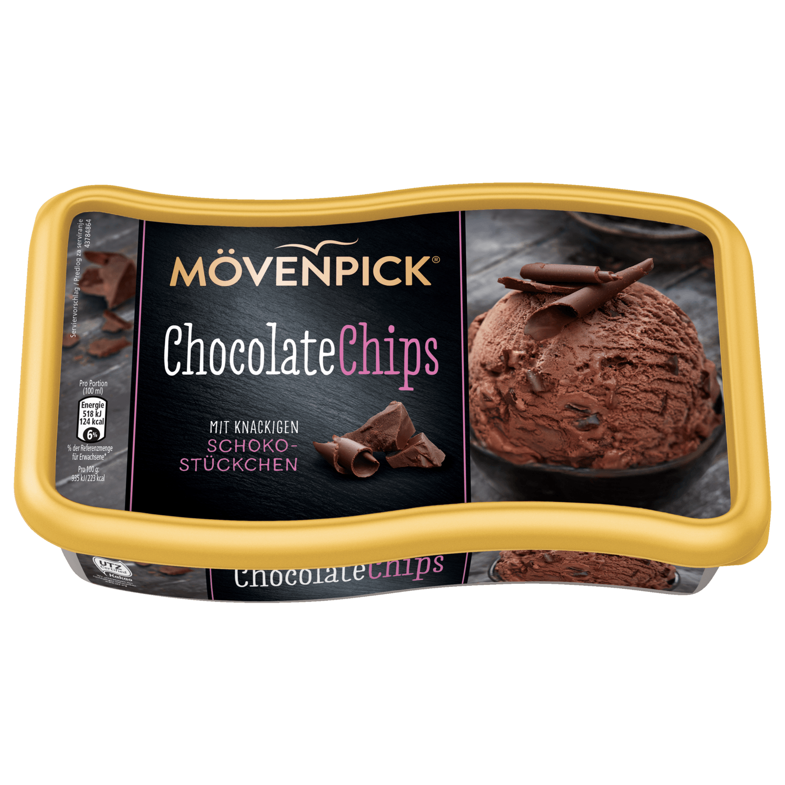 Mövenpick Chocolate Chips 900ml