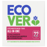 Ecover All- In- One Spülmaschinentabs 440g, 22 Tabs