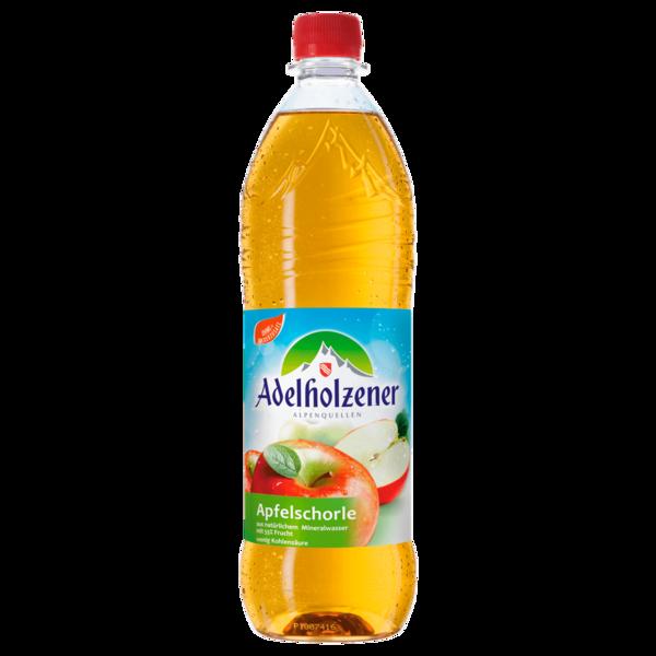 Adelholzener Apfelschorle 1l