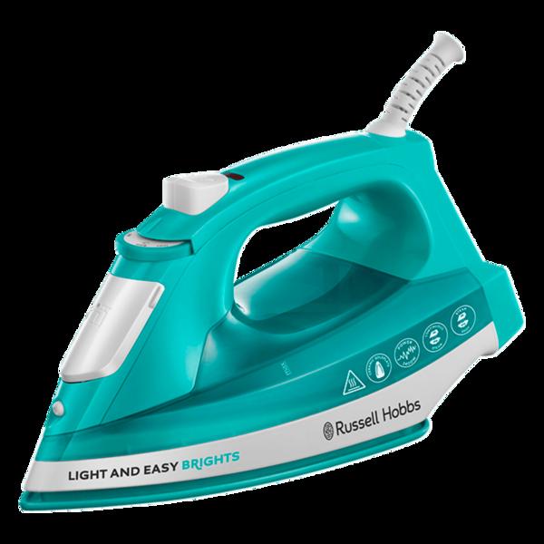Russell Hobbs Light & Easy Dampfbügeleisen Brights Aqua 24840-56