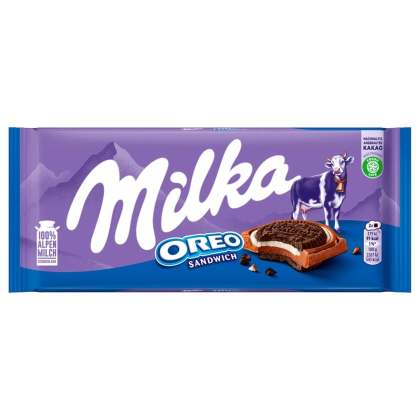 Milka Schokolade Oreo Sandwich 92g