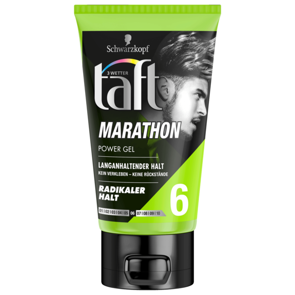 Schwarzkopf 3 Wetter Taft Marathon Power Gel Radikaler Halt 6 150ml