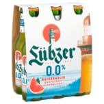 Lübzer Grapefruit alkoholfrei 6x0,33l