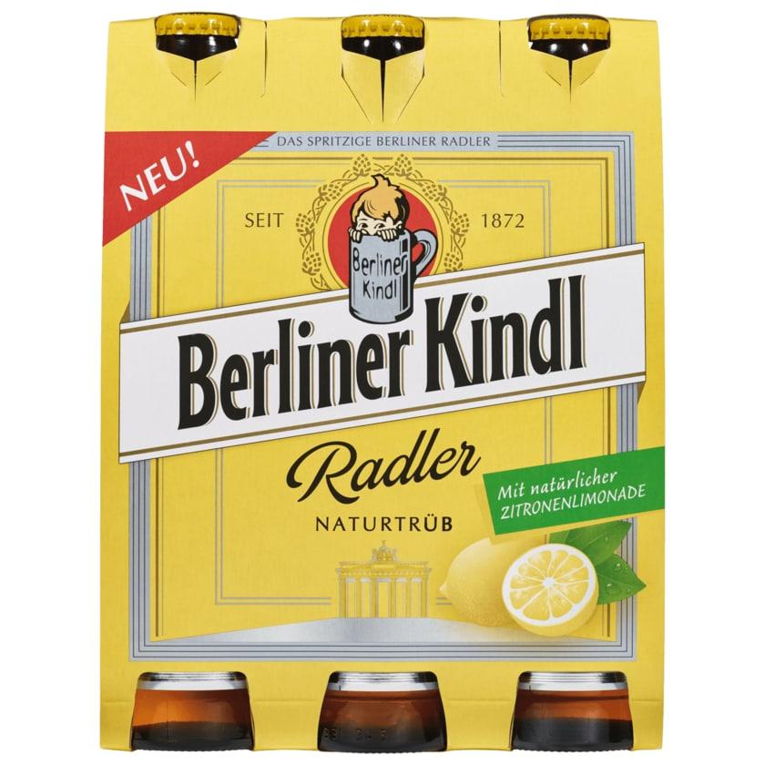 Berliner Kindl Radler Naturtrüb 6x0,33l
