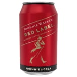 Johnnie Walker & Cola 10% 330ml
