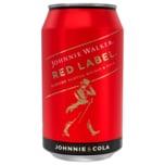 Johnnie Walker & Cola 10% 330ml