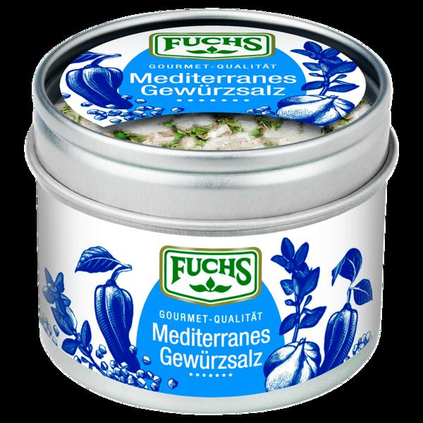 Fuchs Mediterranes Gewürzsalz 70g