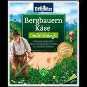 Bergader Bergbauern Käse Scheiben mild-nussig 150g