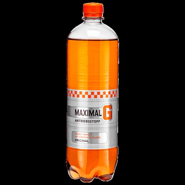 Maximal G Energy Drink mit Koffein und Taurin 1l