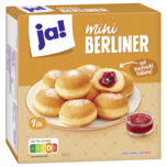 ja! Mini-Berliner 9 Stück 324g