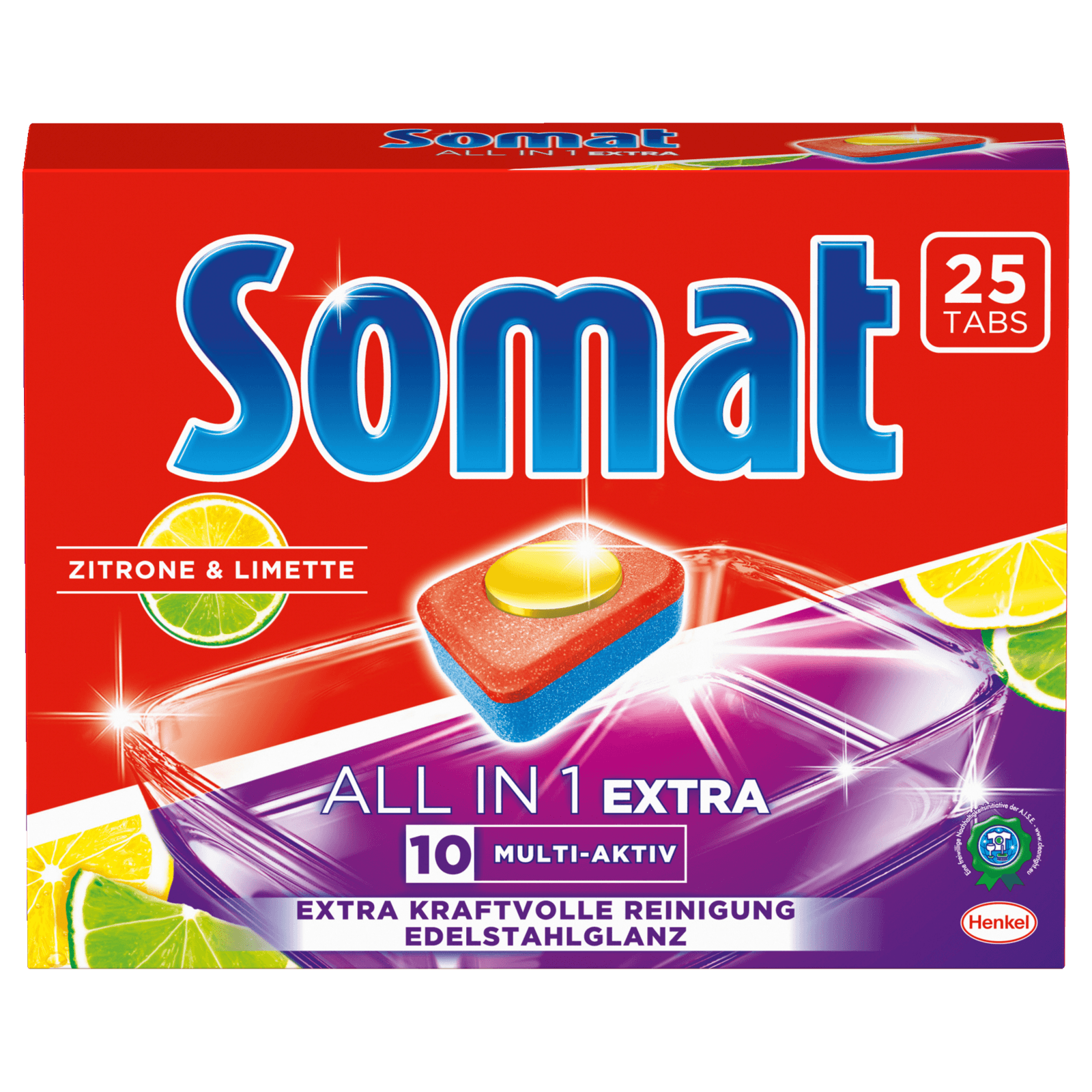 Somat All-in-1 Extra Zitrone & Limette 25 Tabs