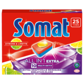 Somat All In 1 Extra Zitrone & Limette 25 Tabs